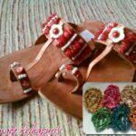 Latest Kolhapuri Footwear Eid 2012 For Women