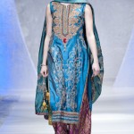 Latest dress by Sara Rohale Asghar at Pakistan Fashion Week London 2012 Day 1