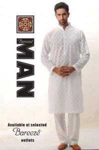 Latest kurta salwar collection 2012 for Men By Bareeze Man
