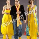 Latest party wear Dresses by waseem noor