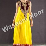 Latest party wears Dress for women by waseem noor