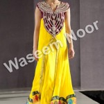 Latest party wears collection 2012 for women by waseem noor