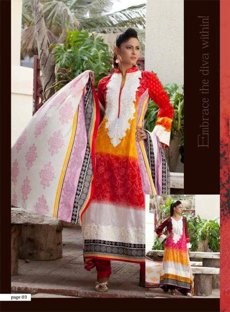Libas Exclusive Embroidery Collection 2012 By Shariq Textiles