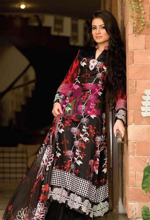 Mahiymaan Designer Lawn Eid Collection For Women 2012 by Alzohaib Textile