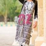 Mahiymaan Designer Lawn Eid Dress 2012 by Alzohaib Textile