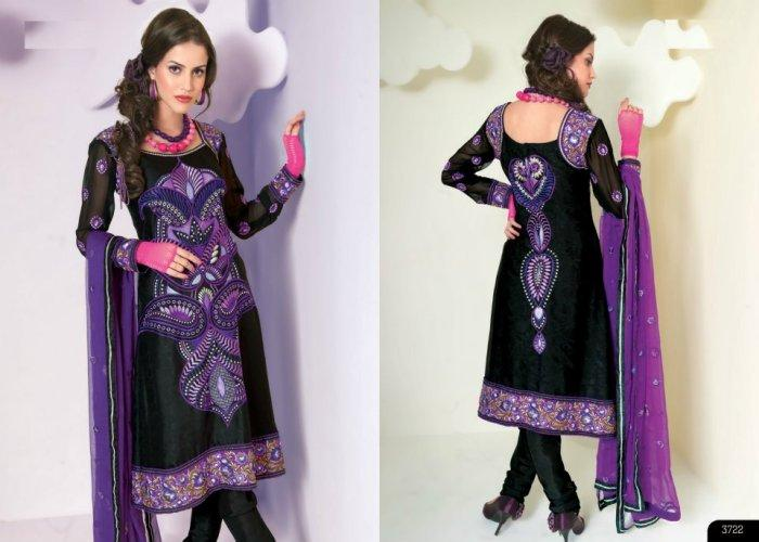 New Beautiful Eid Wear Desi Dresses Collection 2012 For Women