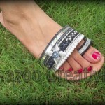 New Kolhapuri Shazoo Creativity Shoes Collection 2012 For Eid Summer for women