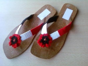 New Kolhapuri Shoes Eid 2012 For Women