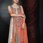 New Latest Eid Dresses 2012 By Sanz Collection
