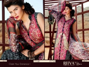 Reeva Designer Summer Lawn Collection 2012 for women by Shariq Textiles