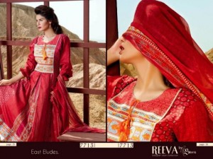 Reeva Designer Summer Lawn Collection by Shariq Textiles