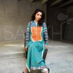 Saakh spring summer Dress collection 2012 by saba