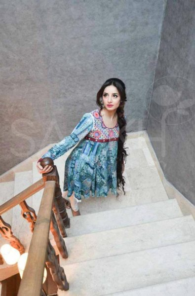 Saakh spring summer Dresses 2012 by saba
