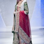Sara Rohale Asghar at Pakistan Fashion Week London 2012 Day 1 lehengas for women