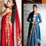 Shariq Textiles Libas Exclusive Embroidery summer lawn Collection 2012