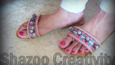 Shazoo Creativity Eid shoes 2012 for women