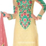 Summer Cotton Suits with Chiffon Dupatta 2012 Outfits for women