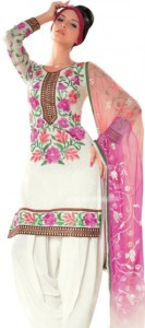 Summer Cotton Suits with Chiffon Dupatta 2012 collection for women