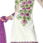 Summer Cotton Suits with Chiffon Dupatta collection for women