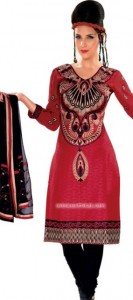 Summer Cotton Suits with Chiffon Dupatta party wear collection for women