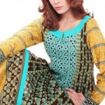 Summer Lawn Dress 2012 by Warda Saleem