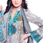Summer Lawn Party wear Dresses 2012 by Warda Saleem