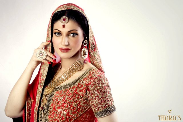 Tharas Bridal and Party Wear Colllection 2012-13 For Brides and Women