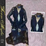 Turn Style Deep purple Ready to wear summer collection 2012
