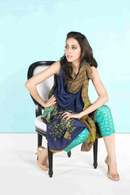 Uraan Summer dress Collection 2012-13 for women by Sania Maskatiya