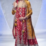 Wedding dress by Sara Rohale Asghar at Pakistan Fashion Week London 2012 Day 1