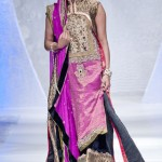 Wedding dress collection Sara Rohale Asghar at Pakistan Fashion Week London 2012 Day 1
