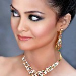 Wonderful Jewlery fashion Shoot Bracelets Earings Model Shazia Khan
