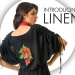 khaadi latest linen collection 2012 with sleeves for women