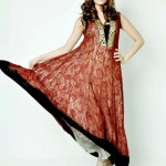 latest party wear for women by umsha by uzma babar