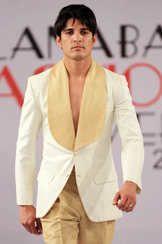 new over coat collection by munib nawaz  at islamabad fashion week 2012