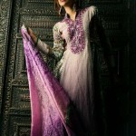 royal purple duppata simply breathtaking Mid Summer Lawn collection 2013-12