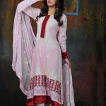 stylish dresses for girls for eid 2012 by Lala Textiles