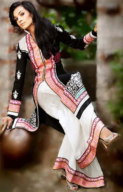 stylish dresses for girls for eid 2012