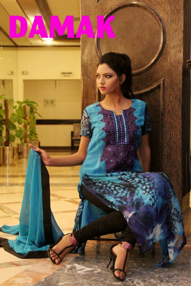 Damak Mid summer Ramadhan Eid Wear Collection For Women