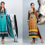 EIZA Lawn Eid Mid Summer Special Collection for girls By UA Textiles