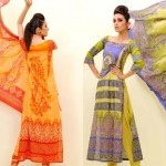 EIZA Lawn Eid Mid Summer Special outfits for women 2012 By UA Textiles