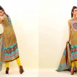 EIZA Lawn Eid dress Mid Summer Special Collection 2012 By UA Textiles