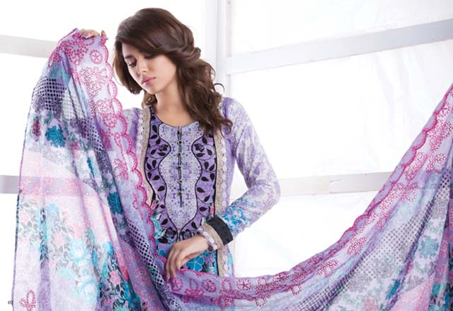 Eid Print Collection 2012-13 For Women By Firdous Cloth Mills (7)
