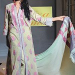 Faiza Samee Lawn Prints Eid Collection 2012 by Alkaram Textiles