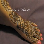 Feet Mehndi Designs Collection 2012 For Eid by Madihas Mehndi