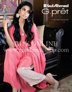 Gul Ahmad Latest G-Pret Collection For Eid Mid Summer 2013