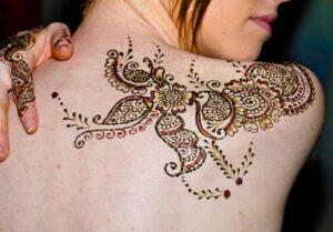 Henna Tattoos for women