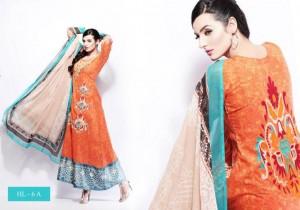 Hira Lari Lawn mid summer Eid Prints 2012 by Afroze Textiles 2