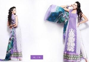 Hira Lari Lawn mid summer Eid Prints 2012 by Afroze Textiles 6
