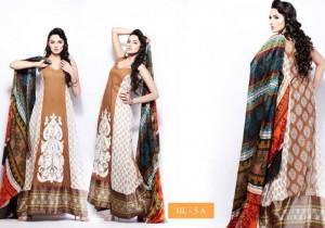 Hira Lari Lawn mid summer Eid Prints 2012 by Afroze Textiles 7